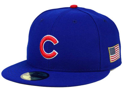 Chicago Cubs MLB AC 9-11 Patch 59FIFTY Cap Hats