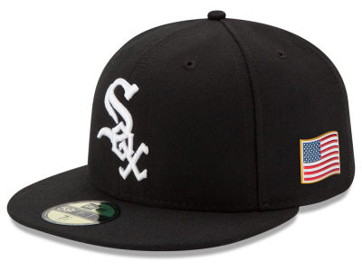 Chicago White Sox MLB AC 9-11 Patch 59FIFTY Cap Hats