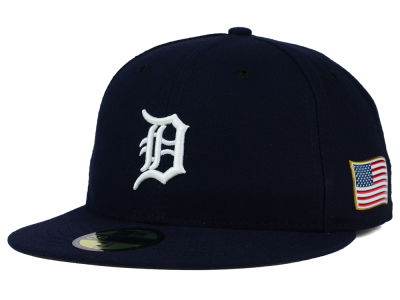Detroit Tigers MLB AC 9-11 Patch 59FIFTY Cap Hats