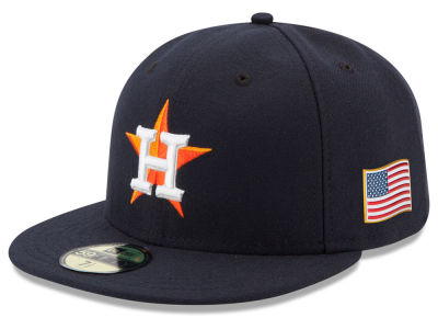 Houston Astros MLB AC 9-11 Patch 59FIFTY Cap Hats