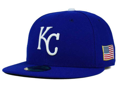 Kansas City Royals MLB AC 9-11 Patch 59FIFTY Cap Hats
