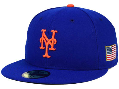 New York Mets MLB AC 9-11 Patch 59FIFTY Cap Hats