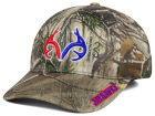Kansas Jayhawks Top of the World NCAA Realtree XB1 Camo Cap Stretch Fitted Hats