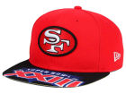 San Francisco 49ers New Era NFL Super Bowl 50 Logo Jumbo Vize 9FIFTY Snapback Cap Adjustable Hats