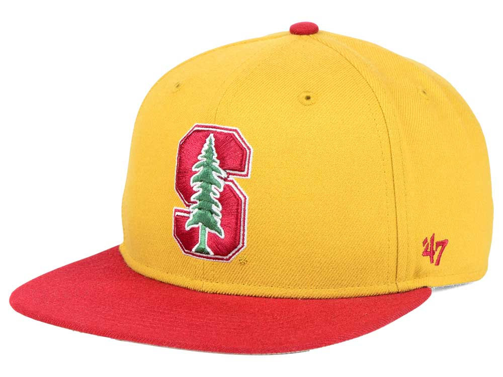 reputable site 9a23d bad32 Stanford Cardinal  47 NCAA Sure Shot Snapback Cap
