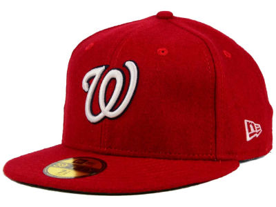 Washington Nationals MLB Past Time 59FIFTY Cap Hats