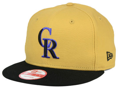 Colorado Rockies MLB Classic Canvas 9FIFTY Snapback Cap Hats