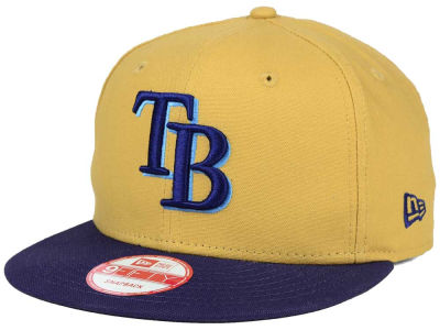 Tampa Bay Rays MLB Classic Canvas 9FIFTY Snapback Cap Hats