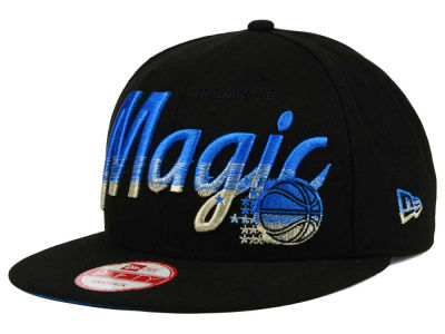 Orlando Magic NBA HWC Fade to Script 9FIFTY Snapback Cap Hats