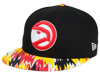 Atlanta Hawks NBA HWC Team Zag 9FIFTY Snapback Cap Hats