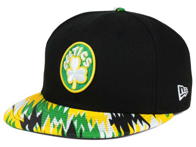 Boston Celtics NBA HWC Team Zag 9FIFTY Snapback Cap Hats