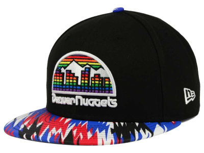 Denver Nuggets NBA HWC Team Zag 9FIFTY Snapback Cap Hats