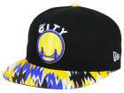 Golden State Warriors New Era NBA HWC Team Zag 9FIFTY Snapback Cap Adjustable Hats