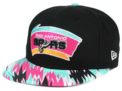 San Antonio Spurs NBA HWC Team Zag 9FIFTY Snapback Cap Hats