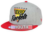 Houston Rockets New Era NBA HWC Youth Lil Triangle Offense 9FIFTY Snapback Cap Adjustable Hats