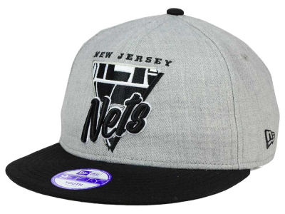 New Jersey Nets NBA HWC Youth Lil Triangle Offense 9FIFTY Snapback Cap Hats