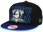 Anaheim Ducks New Era NHL Ice Block 9FIFTY Snapback Cap Adjustable Hats