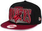 Arizona Coyotes New Era NHL Ice Block 9FIFTY Snapback Cap Adjustable Hats