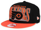 Philadelphia Flyers New Era NHL Ice Block 9FIFTY Snapback Cap Adjustable Hats