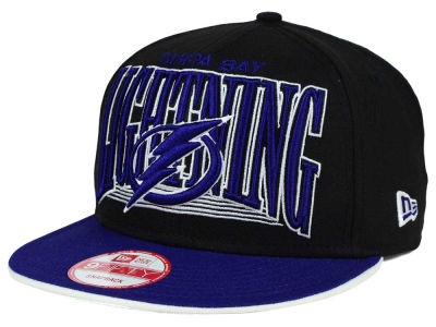 Tampa Bay Lightning NHL Ice Block 9FIFTY Snapback Cap Hats