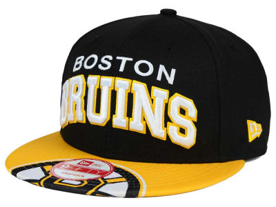 Boston Bruins NHL Double Flip 9FIFTY Snapback Cap Hats