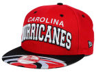 Carolina Hurricanes New Era NHL Double Flip 9FIFTY Snapback Cap Adjustable Hats