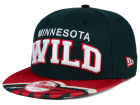 Minnesota Wild New Era NHL Double Flip 9FIFTY Snapback Cap Adjustable Hats