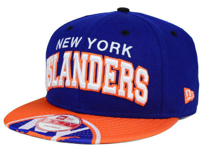 New York Islanders NHL Double Flip 9FIFTY Snapback Cap Hats