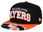 Philadelphia Flyers New Era NHL Double Flip 9FIFTY Snapback Cap Adjustable Hats