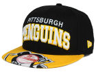 Pittsburgh Penguins New Era NHL Double Flip 9FIFTY Snapback Cap Adjustable Hats