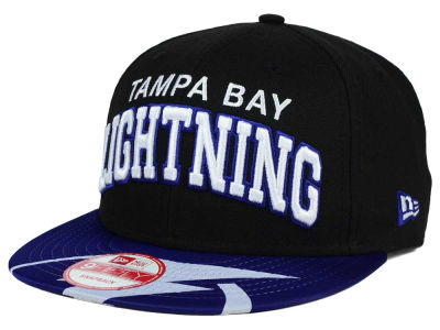 Tampa Bay Lightning NHL Double Flip 9FIFTY Snapback Cap Hats