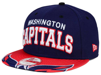 Washington Capitals NHL Double Flip 9FIFTY Snapback Cap Hats