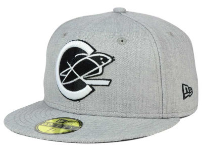 California Golden Seals NHL Heather Gray Black White 59FIFTY Cap Hats