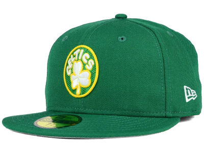 Boston Celtics NBA HWC Team Basic 59FIFTY Cap Hats
