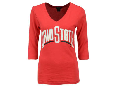 Gameday Couture NCAA Women's Embellished 3/4 Sleeve T-Shirt