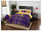 LSU Tigers The Northwest Company Full Comforter Plaid Set Bed & Bath