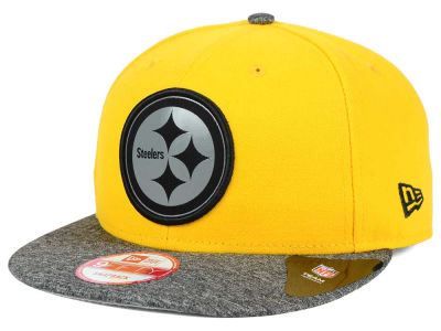Pittsburgh Steelers NFL Gridiron Hook 9FIFTY Snapback Cap Hats