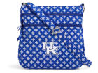 Kentucky Wildcats Vesi Vera Bradley Triple Zip Hipster Apparel & Accessories