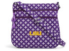 LSU Tigers Vesi Vera Bradley Triple Zip Hipster Apparel & Accessories