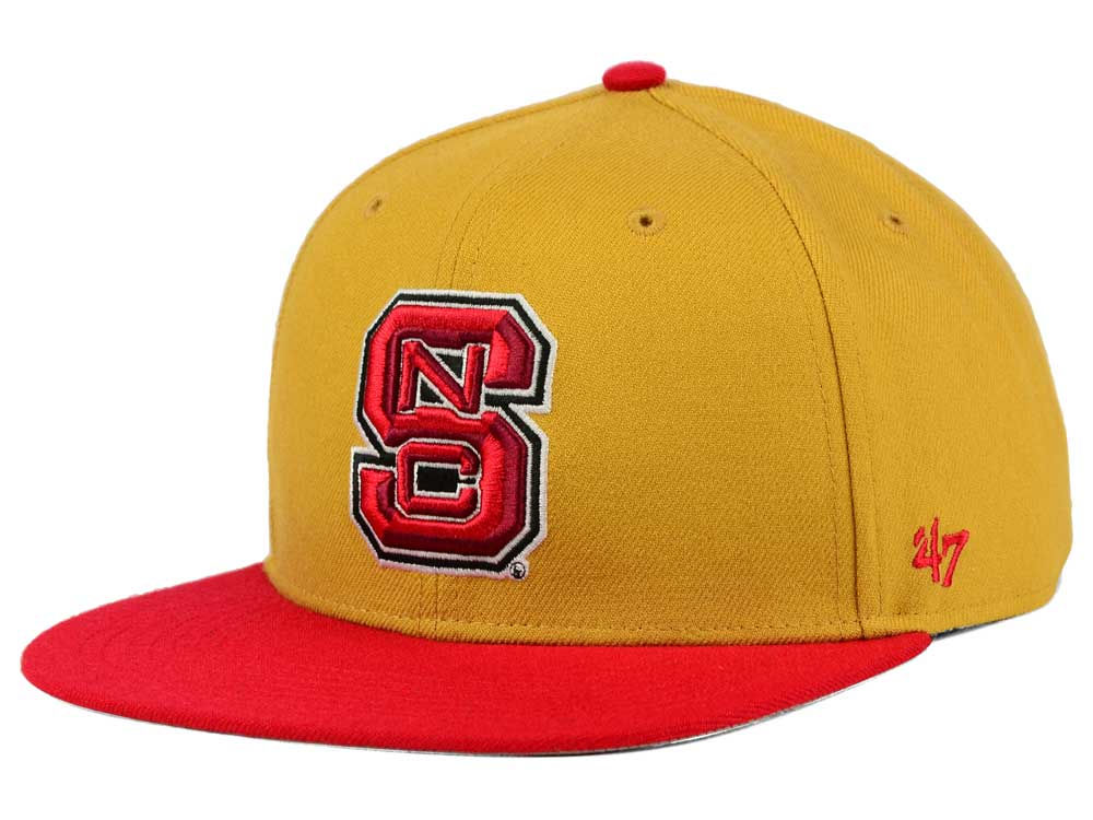 new style 2af53 014a7 hot sale 2017 North Carolina State Wolfpack  47 NCAA Sure Shot Snapback Cap