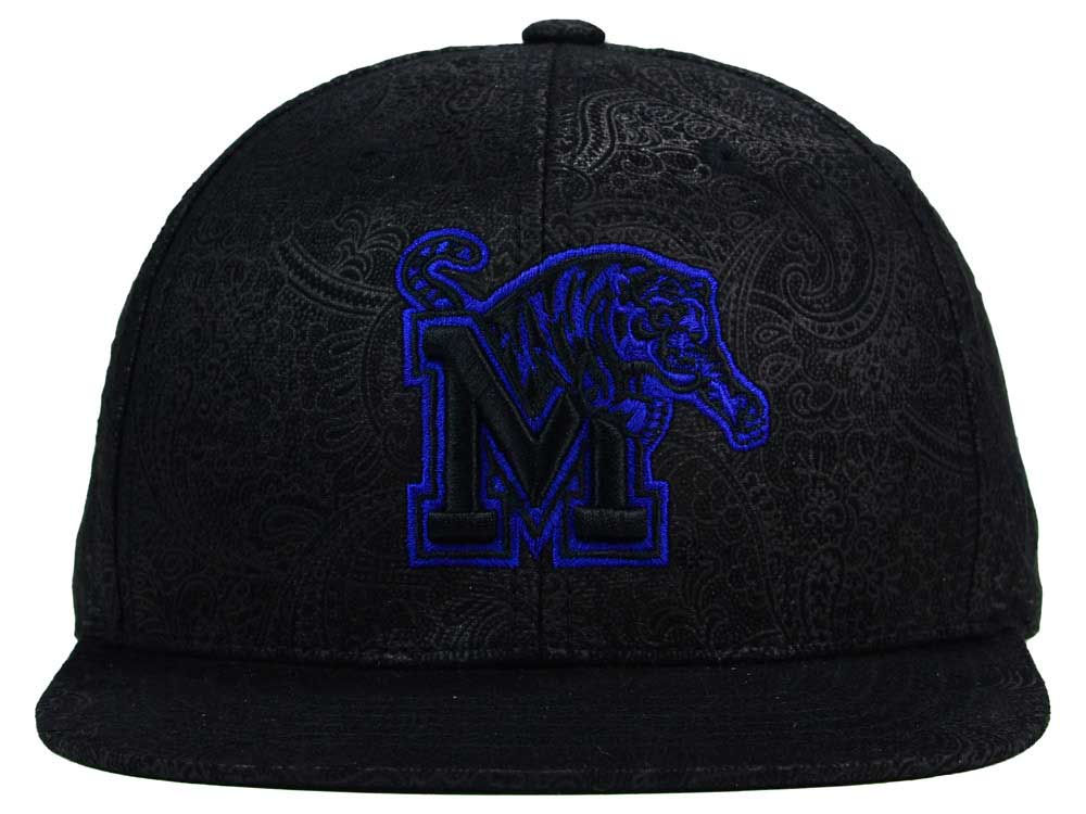 premium selection b2db9 13bc0 delicate Memphis Tigers Top of the World NCAA Phasely Snapback Cap