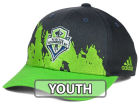Seattle Sounders FC adidas MLS Kids Goal Scorer Adjustable Cap Hats