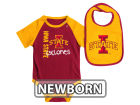Iowa State Cyclones Colosseum NCAA Newborn Rookie Onesie & Bib Set Infant Apparel