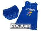 Kansas Jayhawks Colosseum NCAA Newborn Girls Heartbeat Dress Set Infant Apparel