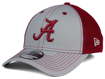 Alabama Crimson Tide NCAA Team Front Neo 39THIRTY Cap Hats
