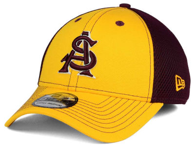 Arizona State Sun Devils NCAA Team Front Neo 39THIRTY Cap Hats