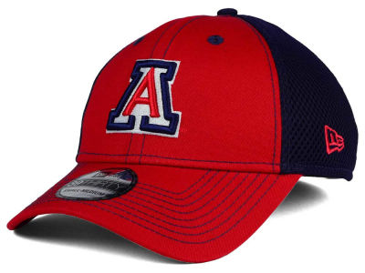 Arizona Wildcats NCAA Team Front Neo 39THIRTY Cap Hats