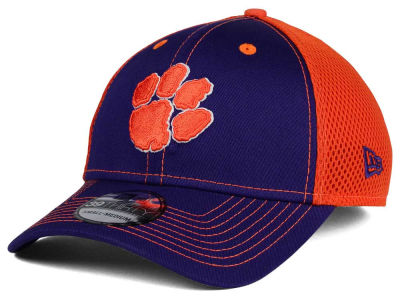Clemson Tigers NCAA Team Front Neo 39THIRTY Cap Hats