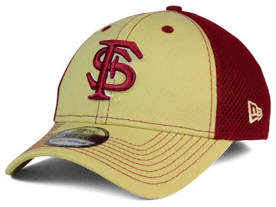 Florida State Seminoles NCAA Team Front Neo 39THIRTY Cap Hats