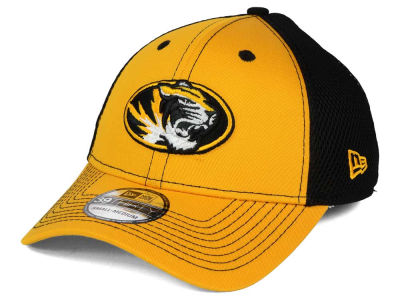 Missouri Tigers NCAA Team Front Neo 39THIRTY Cap Hats